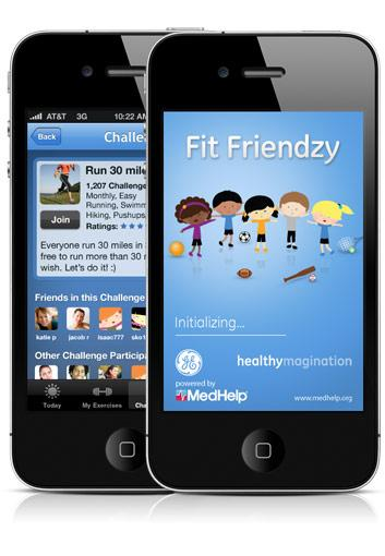 MedHelp's latest app offering: Fit Friendzy