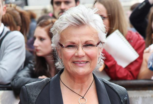 Julie Walters attends the world premiere of Harry Potter and the Deathly Hallows - Part 2