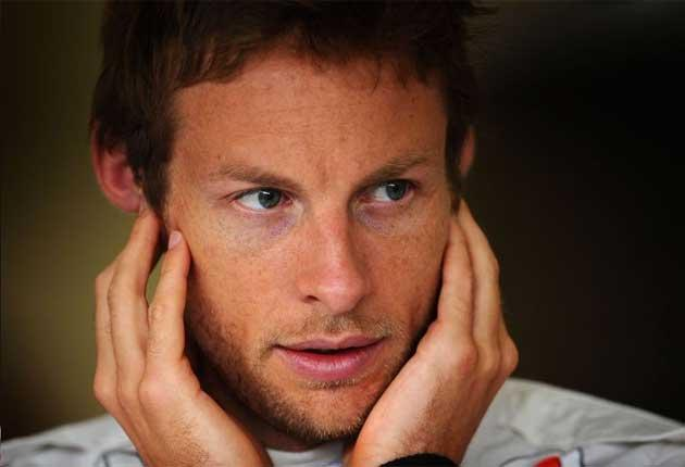 Button: Frustrated by yesterday's rain