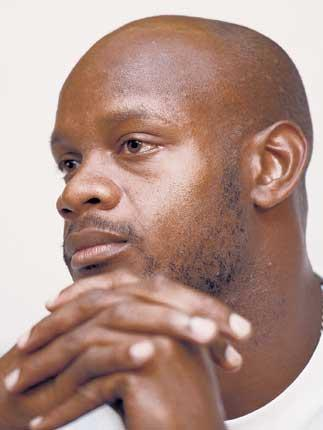 Focused Asafa Powell ran 9.78sec last month - his fastest time in three years