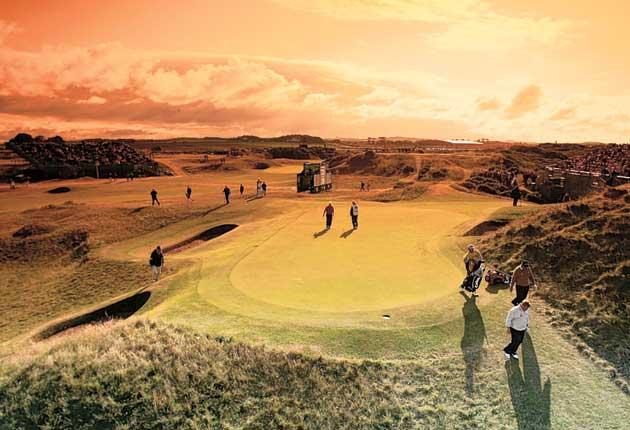 The Postage Stamp at Royal Troon is a worthy member of the composite course