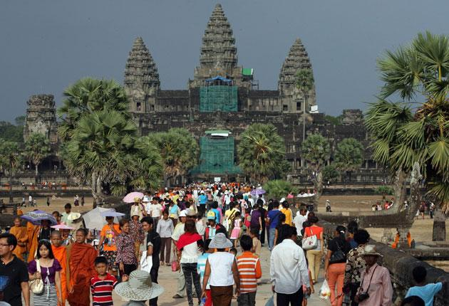 Baphuon temple, at Angkor Wat, is reopening after a renovation that lasted 50 years
