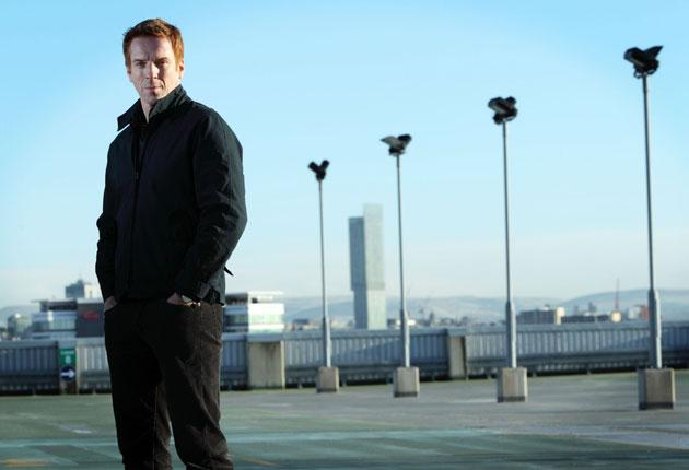 Lost opportunity: Damien Lewis looks distinctly lumbered as the bland police detective battling child traffickers in Stolen