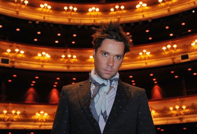 House mates: Rufus Wainwright at the Royal Opera House