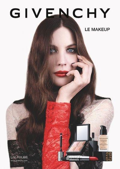 Liv Tyler starring in the new Givenchy beauty ads