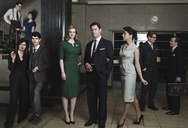 News men: the cast of 'The Hour'