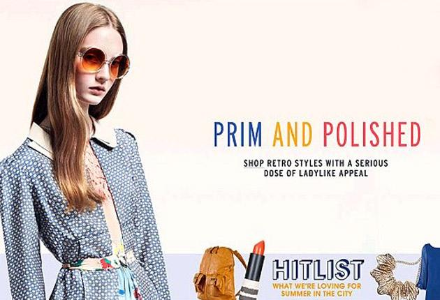 Teenage model Codie Young in the pulled advertisement on the Topshop website