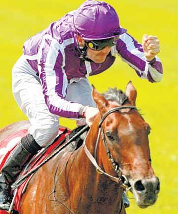Colm O'Donoghue and Treasure Beach both showed elite class in the Irish Derby