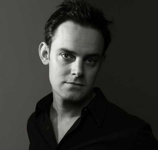 Face to watch: Harry Hadden-Paton will play Michael Palin in No Naughty Bits at the Hampstead Theatre