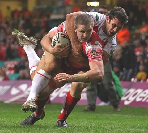 Ryan Hoffman is not in Wigan's squad for tonight's game against Wakefield