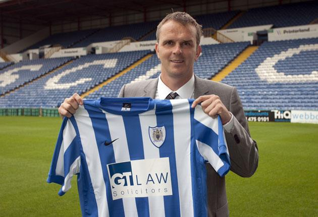 Stockport's new manager, former Liverpool and Germany midfielder Dietmar Hamann, faces a baptism of fire in the Conference