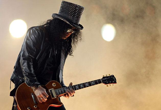 Slash moved to LA at the age of six to live with his mother, but has fond memories of his Stoke days