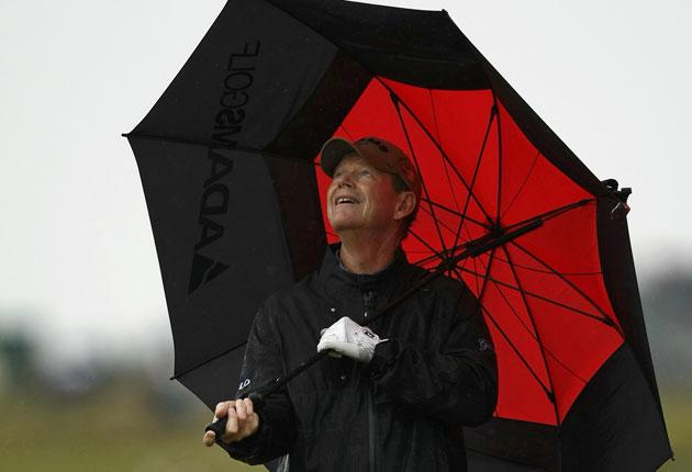 Tom Watson, who 'enjoyed' being battered by the worst of the weather