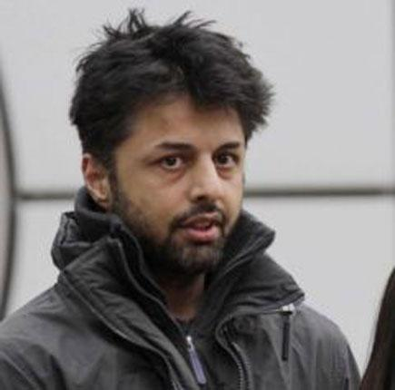 Shrien Dewani pictured yesterday