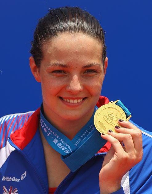 Payne is the first British athlete to win a place at 2012