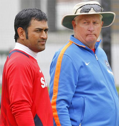 MS Dhoni and former England coach Duncan Fletcher hope to plot the home side's downfall