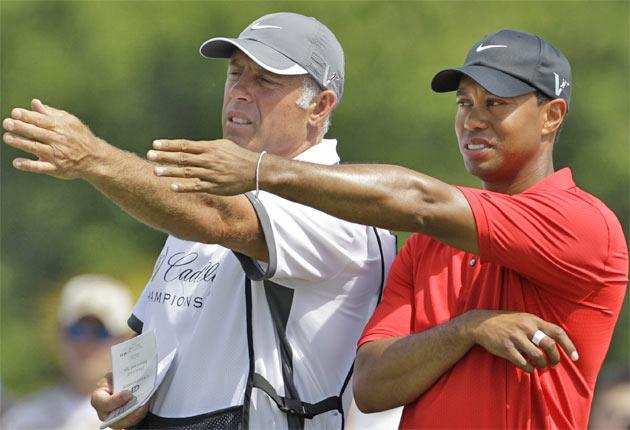Steve Williams was Tiger Woods's caddie for 13 of his Major wins