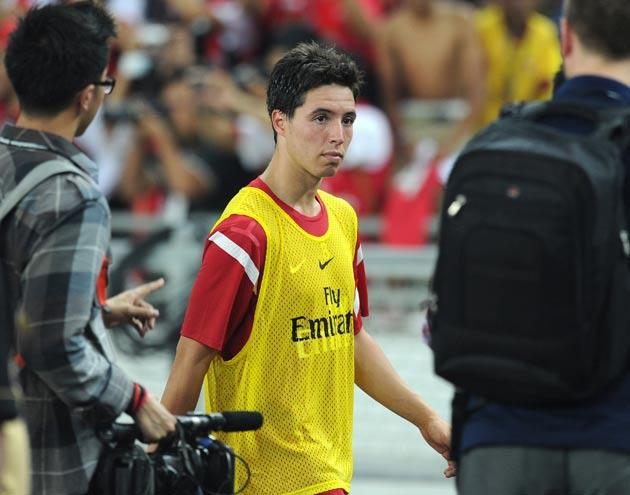 <b>Samir Nasri</b><br/> <b>Arsenal to Man City</b><br/> <b>£25-30m</b><br/> Wenger will be unhappy about the prospect of losing both Fabregas and Nasri making this move less likely.