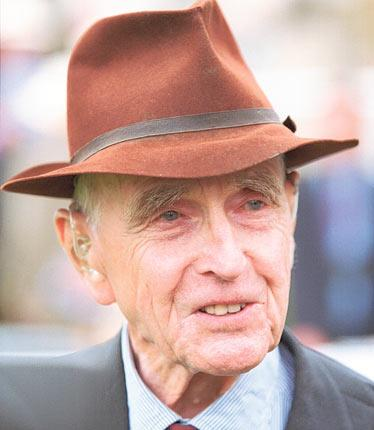 Budgett: he was renowned as one of the Turf's true gentlemen