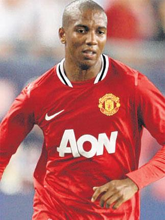 Ashley Young says he is delighted to be with United on their US tour
