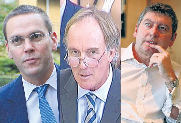 James Murdoch, News International chairman. Tom Crone, former legal manager for the News of the World. Colin Myler, Former editor of the News of the World