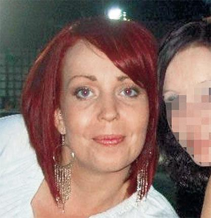Staff nurse Rebecca Leighton, who is being questioned by police