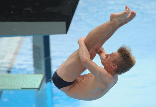 World junior champion Jack Laugher came eighth in the 3m springboard final on his transition to the senior ranks