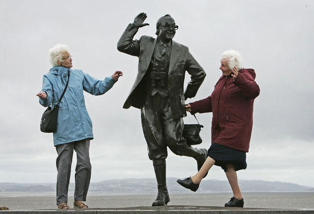 No sunshine: Not all pensioners will be as happy as these women