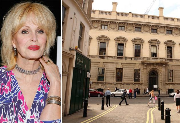 Joanna Lumley has been nominated to become the first woman to join the 180-year-old Garrick