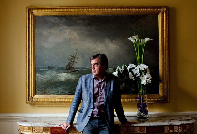 For Sebastian Barry, being longlisted for the Booker prize is 'lovely, like a very well-chosen gift'