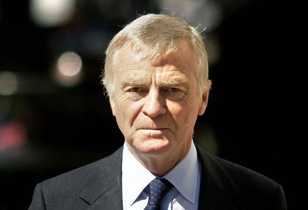 Max Mosley: 'If I had resigned it would have been a cowardly resignation because I'd done nothing wrong'