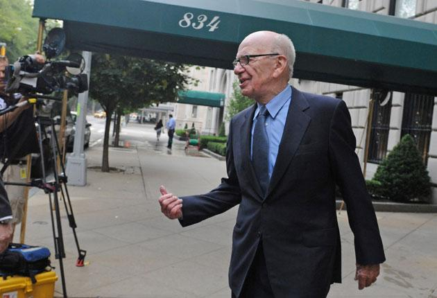 Rupert Murdoch (pictured in New York), is thought to have criticised lawyers in a meeting with Milly Dowler's family