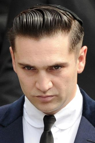 Reg Traviss, the former boyfriend of late British singer Amy Winehouse.