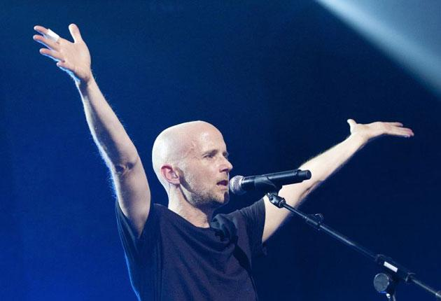 Past glory: Moby brought back fond memories of more luvved-up times