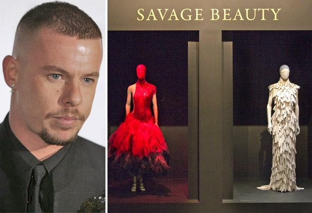 Alexander McQueen's Savage Beauty at the Met in New York, now the museum's most popular ever fashion exhibition