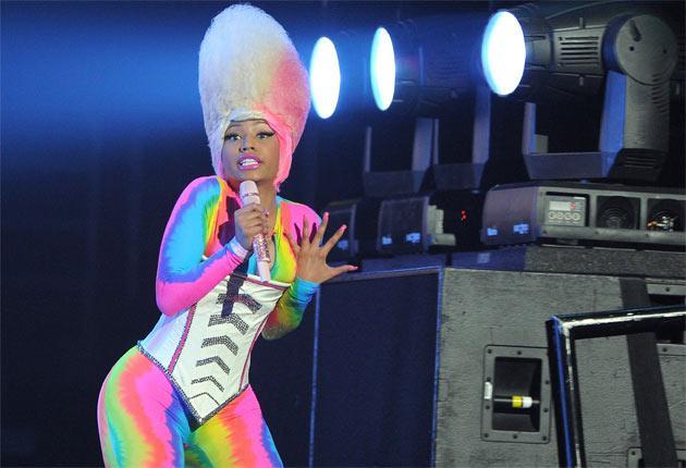 Freak talent: the hip-hop star Nicki Minaj has developed a flamboyant live performance style