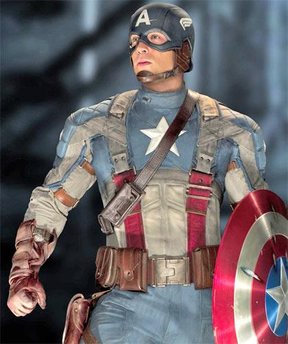Chris Evans in 'Captain America: The First Avenger'