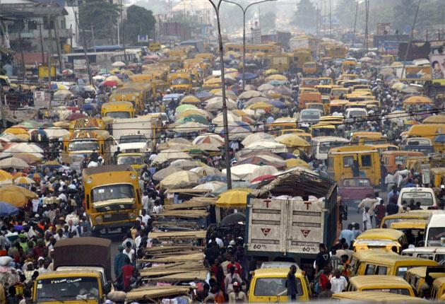 Motorists take drastic measures to avoid the traffic jams in Lagos