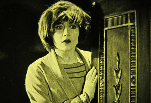 Hitchcock worked on the film starring Betty Compson, above, in London in 1926