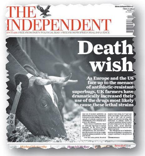 How The Independent reported on the use of human drugs in animals