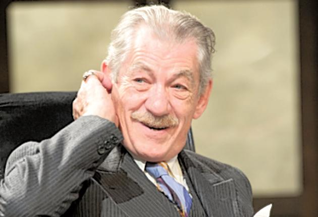 Ebullient: Ian McKellen in 'The Syndicate'