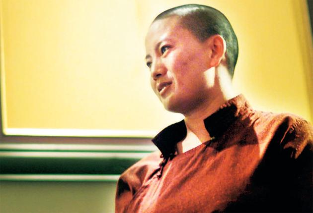 The 21-year-old Buddhist nun under Ani Choying Drolma's care was reportedly attacked last month on a bus by the driver and four other men