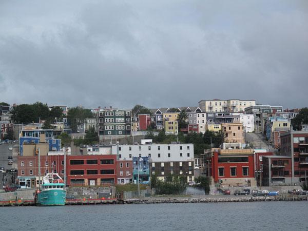 Shining through: Newfoundland's cloudy capital, St John's
