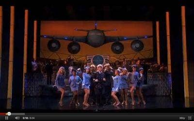 A scene from the preview of Broadway's 'Catch Me If You Can' musical