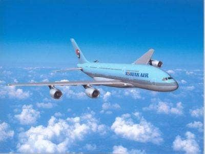 Korean Air's new A380 superjumbo