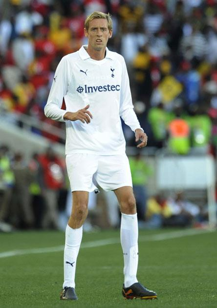 Stoke are looking to bring in England international Peter Crouch