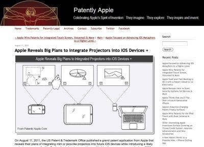 http://www.patentlyapple.com/patently-apple/2011/08/apple-reveals-big-plans-to-integrate-projectors-into-ios-devices.html
