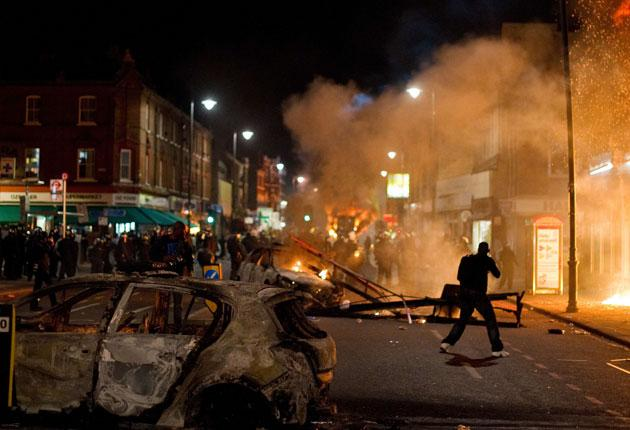 A rioter says: 'The riots were a statement; to fight against the police, to stand our ground - and to say we're not having any more of this'