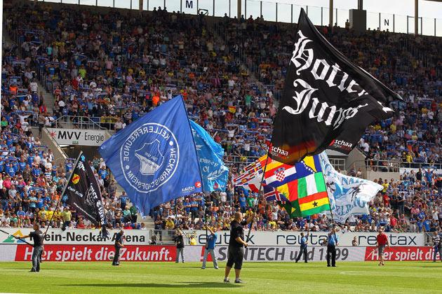 The incident occurred at Hoffenheim's home game against Borussia Dortmund at the weekend