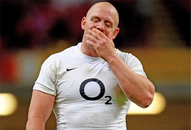 Mike Tindall struggled against Wales last weekend